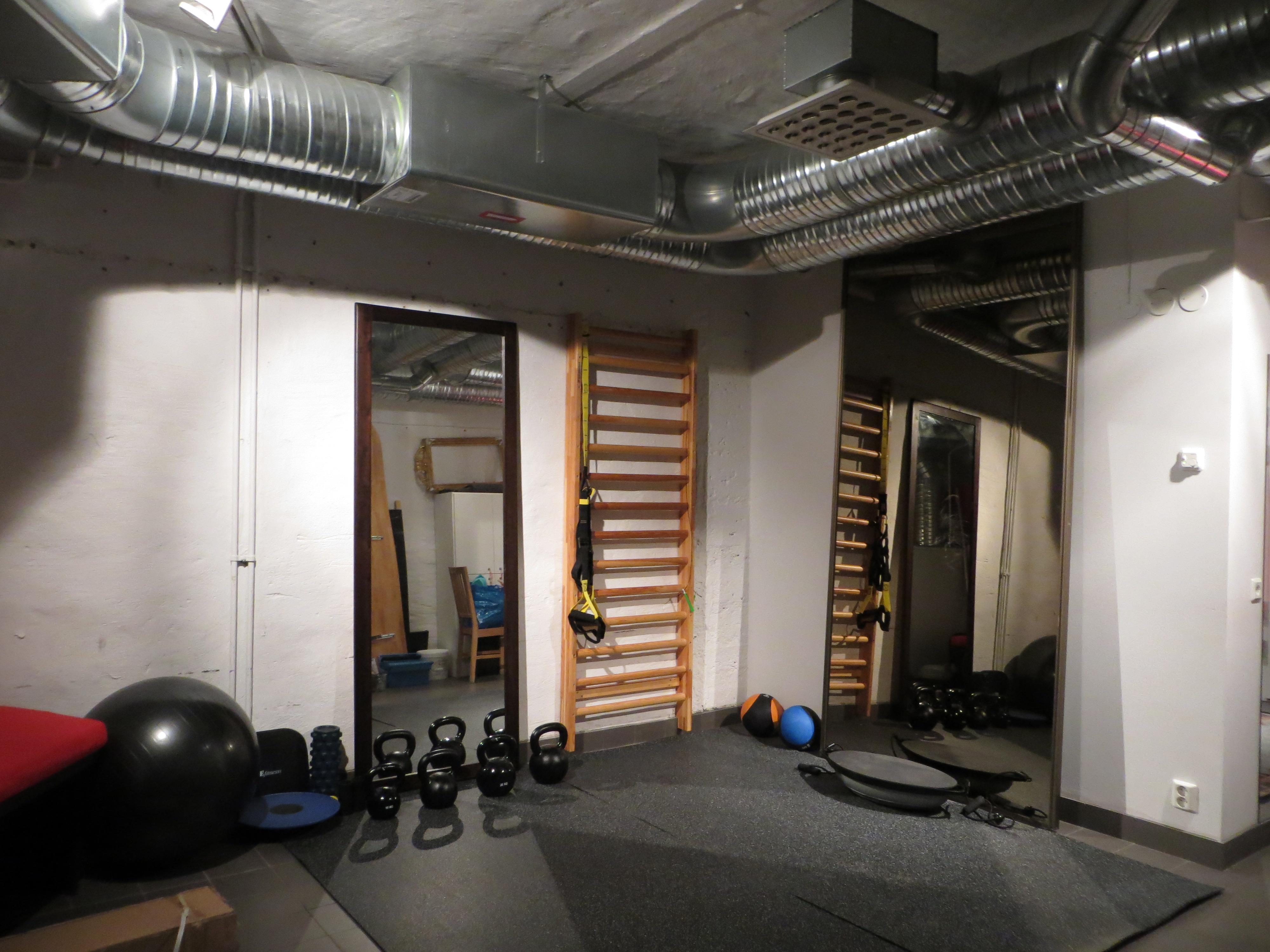 Vårt gym för privat träning